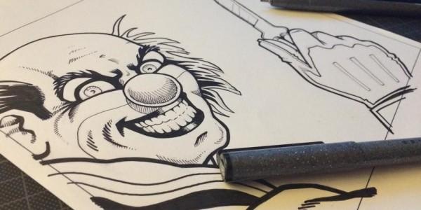 Coverbild CD 8: Reinzeichnung des finalen Clowns